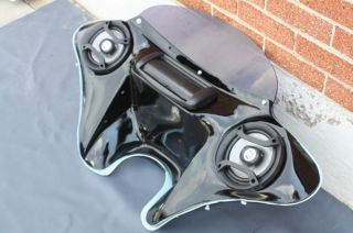SPEAKERS BATWING FAIRING FOR HARLEY SPORTSTER, FIBERGLASS F10