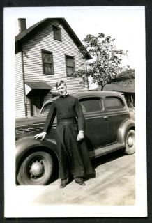proud priest man new 1935 plymouth car 1935 vintage car
