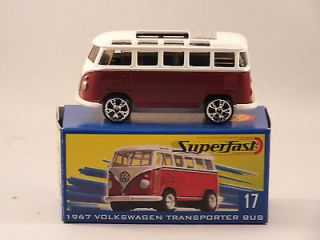 Matchbox Superfast 2004 #17 1967 Volkswagen Transporter MIB