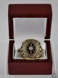 1927 NEW YORK YANKEES WORLD SERIES CHAMPIONSHIP 18K GOLD PLATED FAN