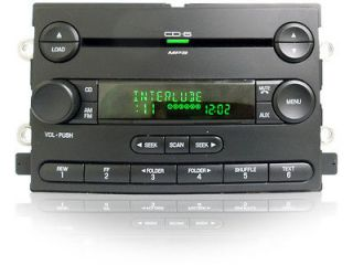 06 07 ford freestyle 500 mercury montego radio aux mp3