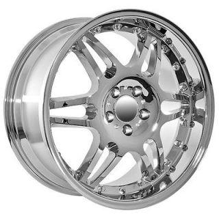 19 Mercedes Benz Deep Dish C CL CLK E ML S SL R AMG chrome wheels