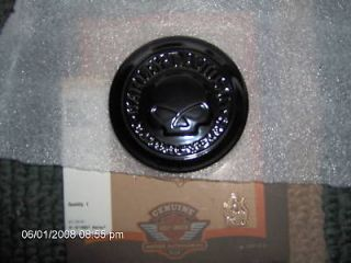 SKULL GAS CAP MEDALLION/NIGH​TSTER GLOSS BLACK PART # 99670 04