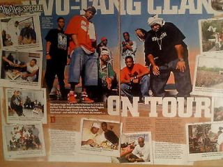 Wu Tang Clan Method Man Lot Posters, Magazine, Tatoo, Stickers, Flyer