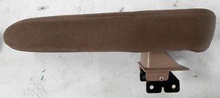 FORD EXPLORER RANGER NAVAJO CENTER CONSOLE ARMREST ARM REST BROWN PAD