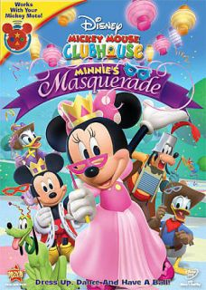 mickey mouse clubhouse minnie s masquerade dvd