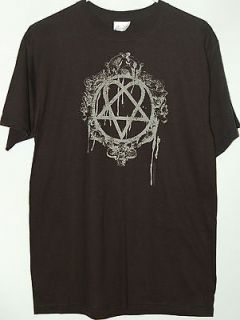 Heartagram black T Shirt tee HIM His Infernal Majesty Bam Margera New