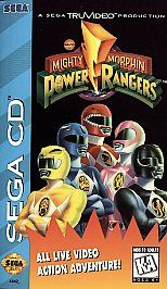Mighty Morphin Power Rangers Sega CD, 1995