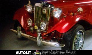 1952 1987 mg td mgtd daytona migi vw kit car