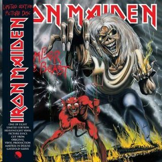 IRON MAIDEN**NUMBER OF THE BEAST (GATEFOLD/LIMITED/PICTURE DISC/HEAVY