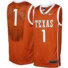 NEW Mens Nike ELITE TEXAS LONGHORNS UT Twill Basketball Jersey LG #1