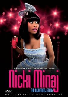 Nicki Minaj The Nicki Manaj Story   Unauthorized DVD