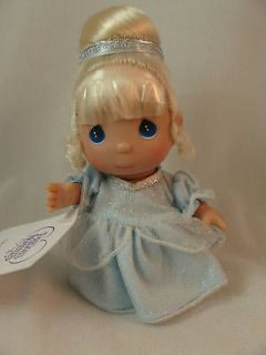 Cinderella Mini Moments 5 Vinyl Doll #5264 Disney Precious Moments