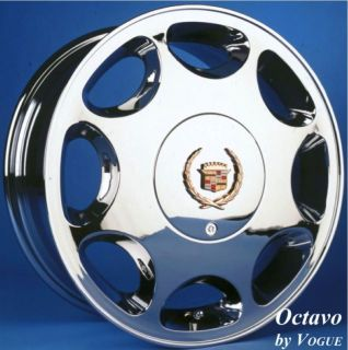 rare vogue octavo 16 inch chrome wheel octavio cadillac time