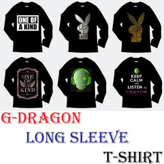 DRAGON one of a kind SOLO Long Sleeve T SHIRT BIGBANG GD K pop Idol