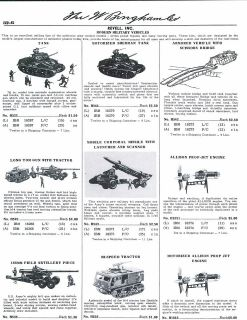 1960 61 Toy Ad Revell Military Sherman Tank Allison Rpop Jet Engine