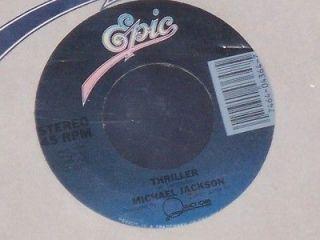 michael jackson thriller 7 45 epic 34 04364 1982 vinyl