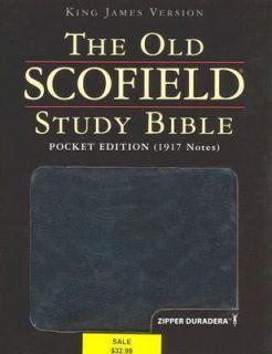 Old Scofield Study Bible KJV Pocket 2006, Hardcover