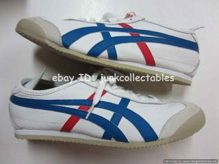 NEW Asics Onitsuka Tiger Mexico 66 men shoe ultimate 81 white blue 8