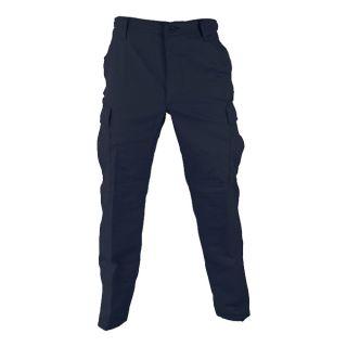 NAVY POLY COTTON RIPSTOP BDU PANTS (clothing cargo military uniform