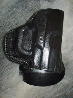 MILLENIUM PRO PT 111 140 145 BLACK LEATHER RH PADDLE HOLSTER by TAGUA