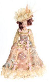 newly listed dollhouse miniature victorian lady doll