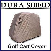 DuraShield Golf Cart Cover Club Car Yamaha EZ Go 2 Passenger Free