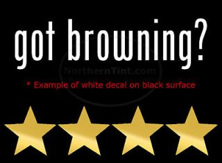 got browning vinyl wall art truck car decal sticker more