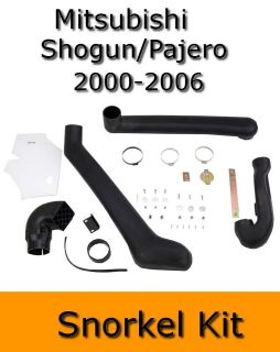 mitsubishi shogun pajero 2000 2006 off road look snorkel kit