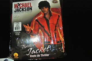 MICHAEL JACKSON DRESS UP JACKETS HAT HAIR GLOVES SUN GLASSES SOCKS