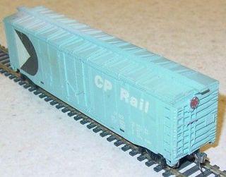 tyco cp rail pac man blue 50 pd boxcar wmwkd