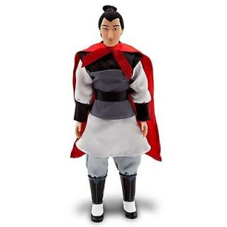 new disney mulan li shang doll 12 h returns accepted