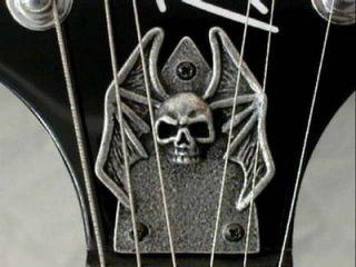 TRUSS ROD COVER fits bc rich MOCKINGBIRD guitar HAND MADE METAL PLATE