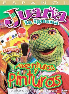 Juana La Iguana Adventuras Y Pinturas, New DVD, Juana La Iguana,
