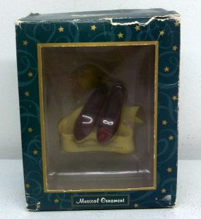 music box company dorothy s ruby slippers wizard of oz
