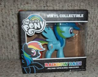 RARE My Little Pony FIM Friendship is Magic Rainbow Dash Vinyl by