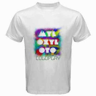 New Coldplay Band MyloXyloto World Tour T SHIRT TEE SIZE S M L XL