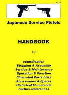 Japanese Nambu Types 14 & 94 Service Pistols Assembly, Disassembly