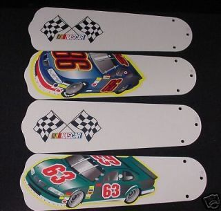 new nascar race car cars 42 ceiling fan blades only