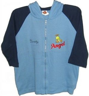 Tweety Bird Pie L Sweater Hoodie Jacket NEW Ladies Womens XLarge 16/18