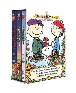 Peanuts   Classic Holiday Collection Gift Set DVD, 2000, 3 Disc Set