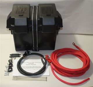 UNIVERSAL TRUNK MOUNT BATTERY RELOCATION KIT 2 GAUGE MADE IN THE USA