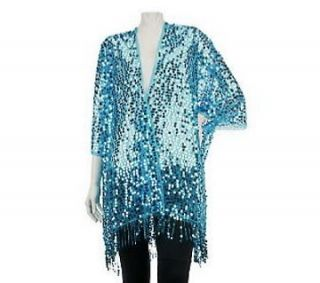 kirks folly fairy dance sequin robe a224742 more options color