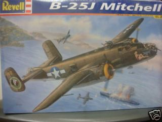 25j mitchell 1 48 revell model kit new 855512
