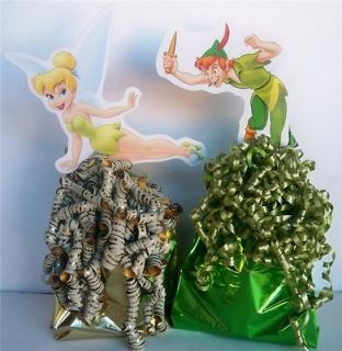 new peter pan tinker bell party 24 favor toppers time