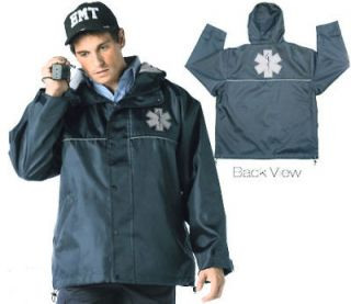 emt ems paramedic hooded storm jacket w star of life xx