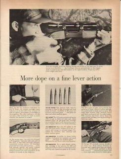 1956 savage model 99 lever action rifle ad time left