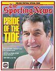 Gene Stallings Autograph Alabama Football Crimson Tide