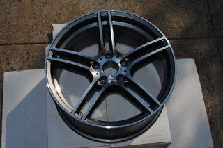 19 313 Style BMW Gunmetal Machine Wheels Rims E36 E46 E90 E92 E93 M3