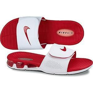 san francisco 17859 48ca9 ... 487331 100 Nike Air Experience Slide Sandal White Red .